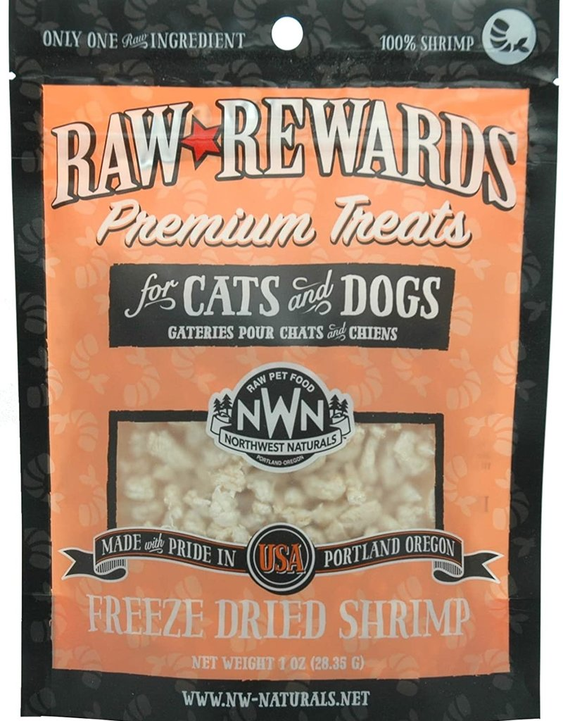 Northwest Naturals Northwest Naturals Freeze Dried Shrimp Dog Treat 1oz