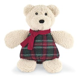 Hugglehounds Hugglehounds Holiday Chubbie Polar Bear Dog Toy Large