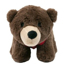 """Tall Tails TALL TAILS Holiday Plush Bear Dog Toy 9"""""""