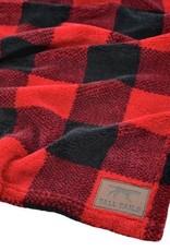 """Tall Tails TALL TAILS Fleece Blanket Hunter's Plaid 30x40"""""""