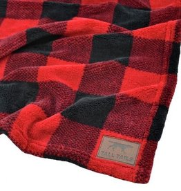 Tall Tails TALL TAILS Holiday Fleece Blanket Hunter's Plaid 30x40""