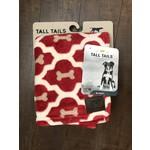 """Tall Tails TALL TAILS Fleece Blanket Red Bone 30x40"""""""