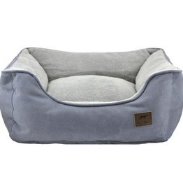 Tall Tails TALL TAILS Dream Chaser Bolster Bed Charcoal Med 24x21