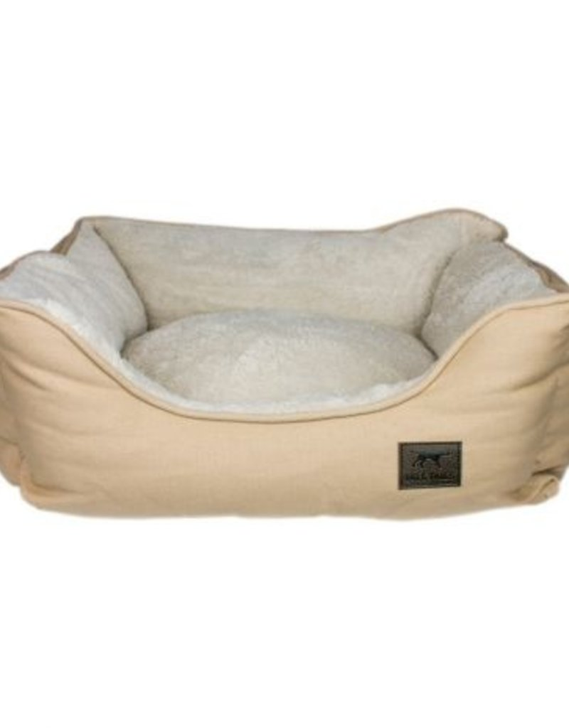 Tall Tails TALL TAILS Dream Chaser Bolster Bed Khaki Med 24x21 - Final Sale - No returns/exchanges