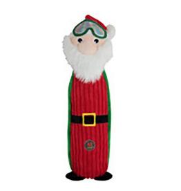 Charming Pet Charming Pet Holiday Bottle Bro Santa Dog Toy