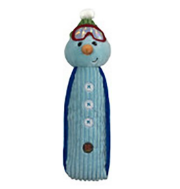 Charming Pet Charming Pet Holiday Bottle Bro Snowman Dog Toy