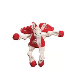 Hugglehounds Hugglehounds Holiday Knotties Glitz Moose Dog Toy Sm