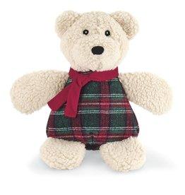Hugglehounds Hugglehounds Holiday Chubbie Polar Bear Dog Toy Sm