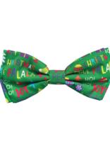 Huxley & Kent Bow Tie Merry & Bright Dog