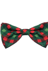 Huxley & Kent Bow Tie Scottish Check Dog