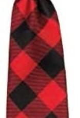 Huxley & Kent Long Tie Buffalo Check Dog