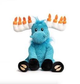 Fabdog Fabdog Holiday Floppy Hanukkah Moose SM Dog Toy
