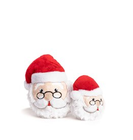 Fabdog Fabdog Holiday Faball Santa SM Dog Toy