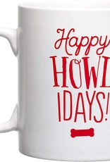 Pearhead Happy Howlidays Holiday Mug
