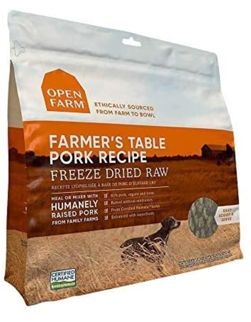 Open Farm Open Farm Freeze Dried Pork Dog Food