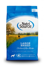 Nutrisource Nutrisource Large Breed Adult Chicken & Rice Dog Food 30#