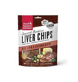 Honest Kitchen The Honest Kitchen Gourmet Barbecue Liver Chips Beef & Cheddar Dog Treat 4oz