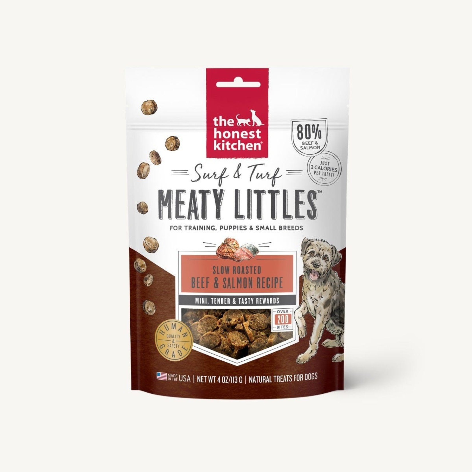 Honest Kitchen The Honest Kitchen Meaty Littles Beef & Salmon Dog Treats 4oz