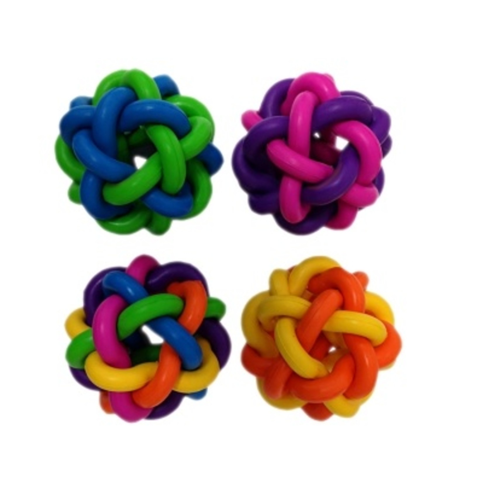 MultiPet Multipet Nobbly Wobbly Ball with Bell Cat Toy