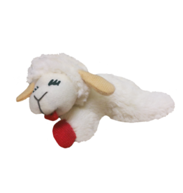 MultiPet Multipet Lambchop Cat Toy 4""