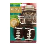 Dharma Dog Dharma Dog Footballs Cat Toy 2 pk
