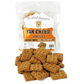 The Natural Dog Company The Natural Dog Company Yak Cheese Waffles Dog Treat 4oz