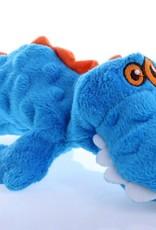 Worldwise/QPG/GoDog GoDog Just For Me Gator Dog Toy Blue