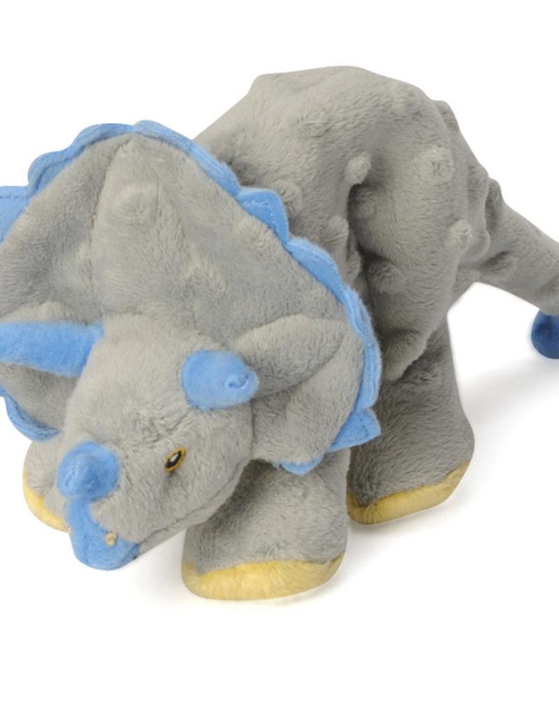 Worldwise/QPG/GoDog GoDog Dino Triceratops Dog Toy Grey Lrg