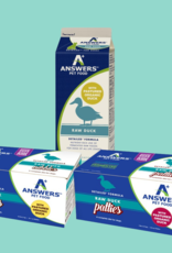 Answers Answers Detailed Raw Duck Dog Food