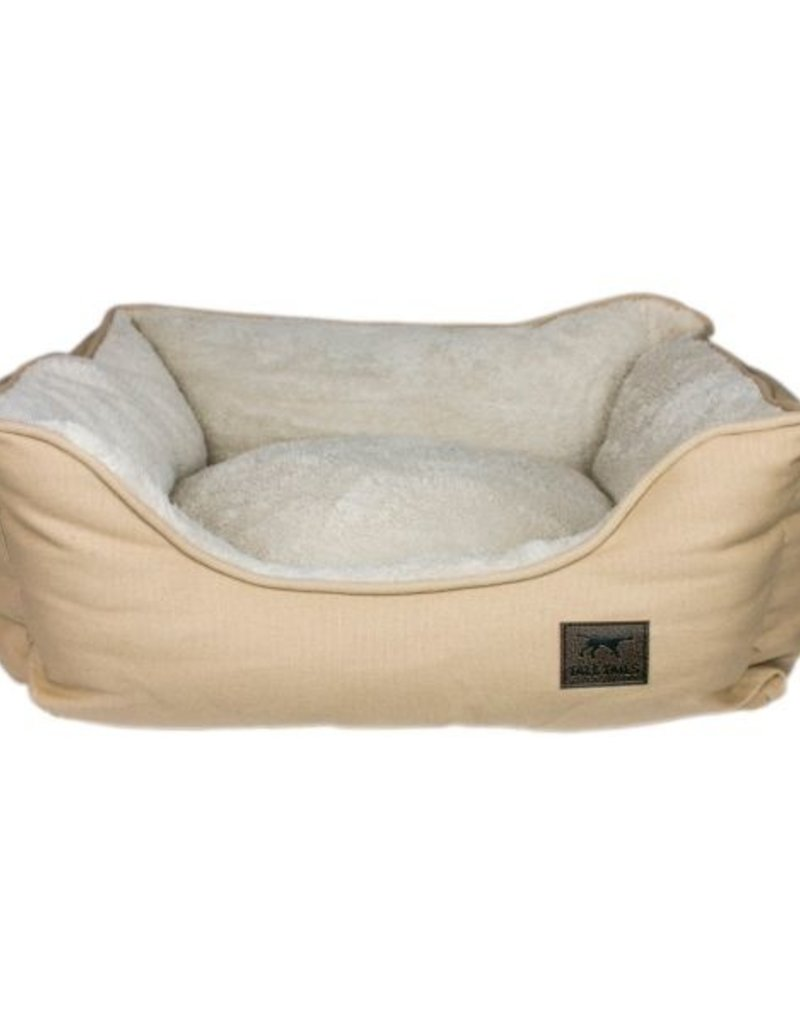 Tall Tails TALL TAILS Dream Chaser Bolster Bed Khaki X Large 36x33