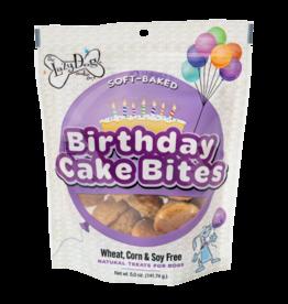 Lazy Dog Lazy Dog Birthday Cake Bites Dog Treat 5oz