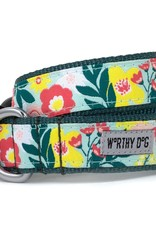 Worthy Dog The Worthy Dog Dog Collar Spring Bouquet