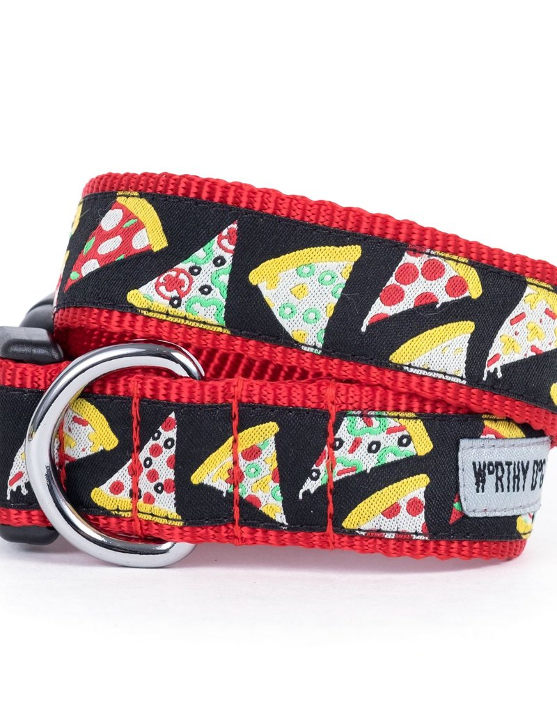 Worthy Dog The Worthy Dog Dog Collar Pizza
