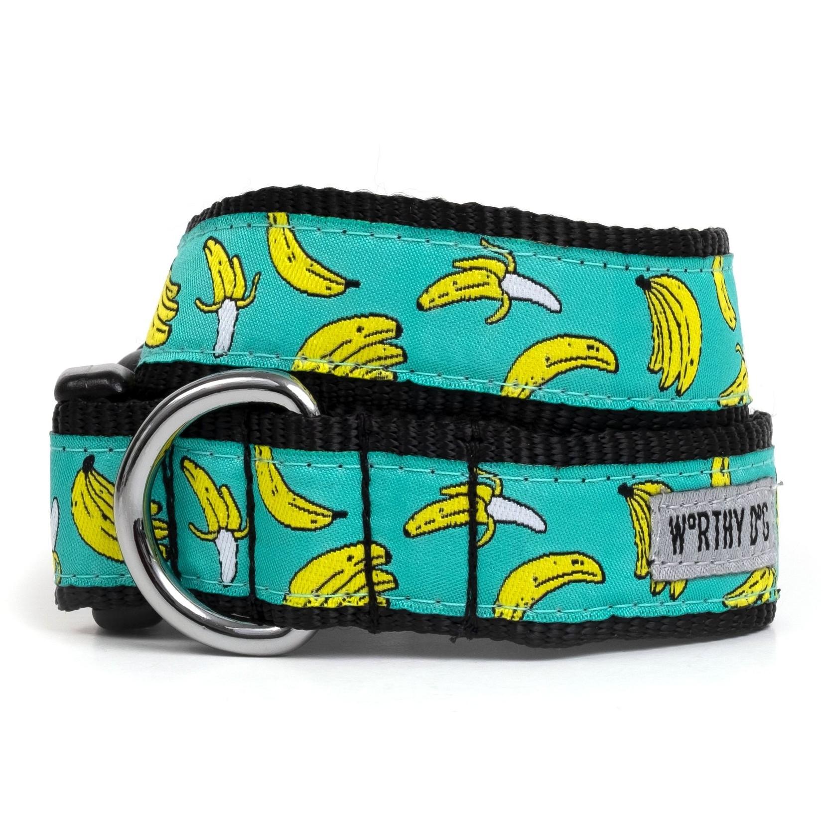 Worthy Dog The Worthy Dog Dog Collar Go Bananas