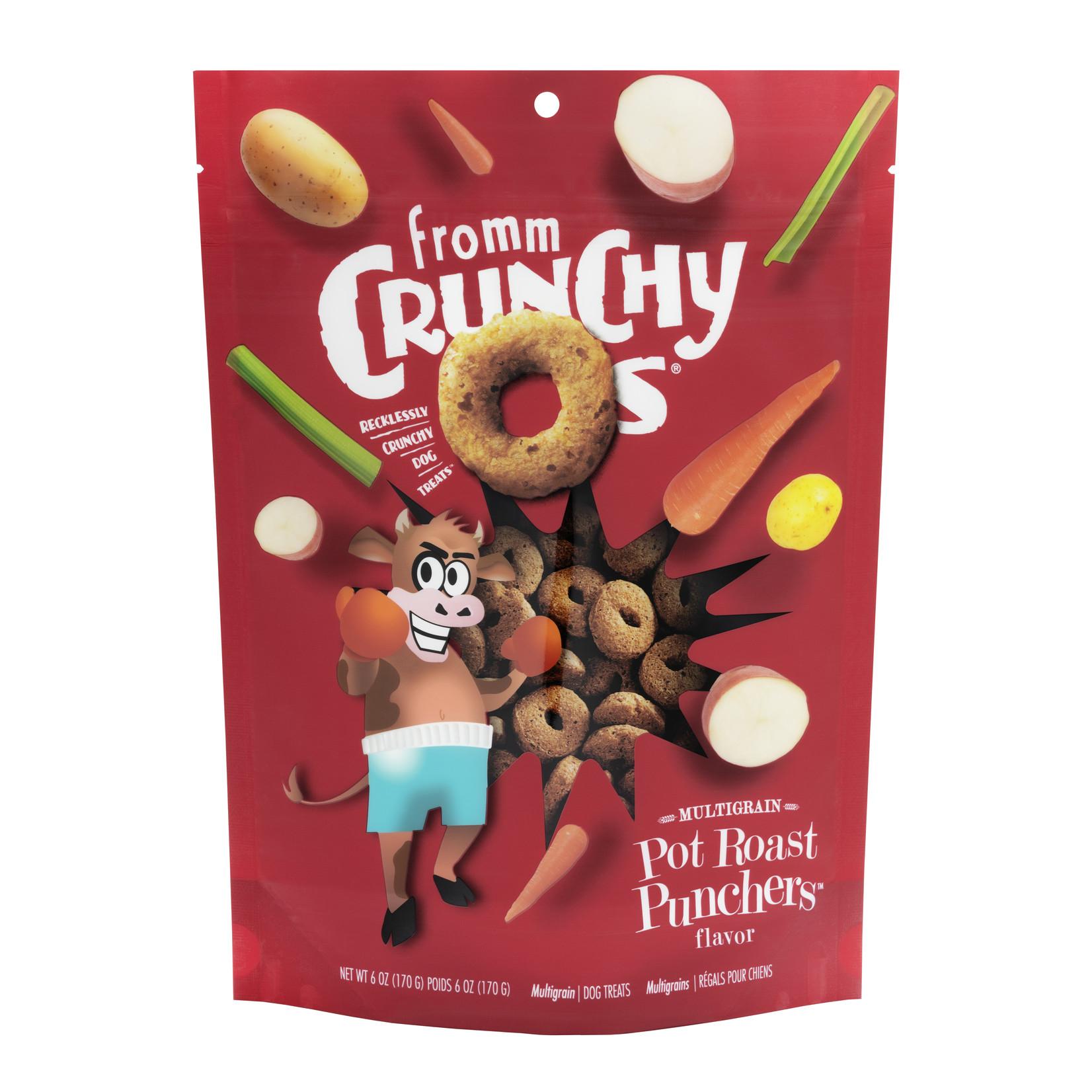 Fromm Family Fromm Crunchy O's Pot Roast Punchers Dog Treats 6oz