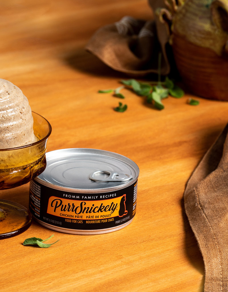 Fromm Family Fromm PurrSnickety Chicken Pate Cat Can 5.5oz