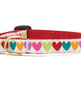 Up Country Up Country Pop Hearts Dog Collar