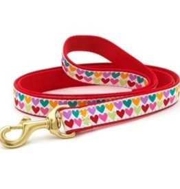 Up Country Up Country Pop Hearts Dog Lead