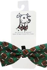 Huxley & Kent Huxley & Kent Football Bow Tie Dog Sm