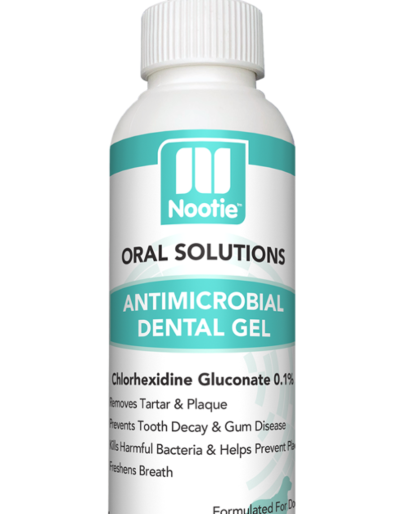 Nootie Nootie Antimicrobial Dental Gel for Dogs 4oz