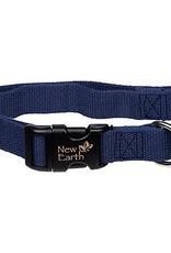 Coastal Pet Products NEW EARTH Soy Collar Indigo Dog