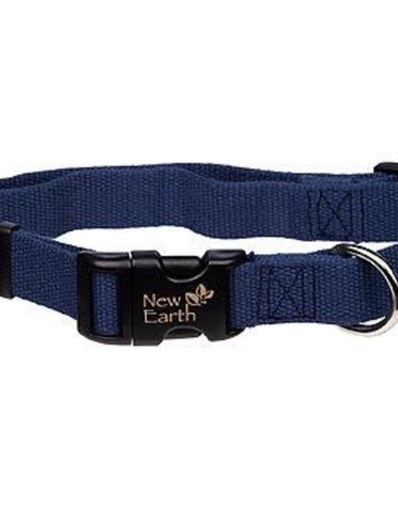 NEW EARTH Soy Collar Indigo Dog