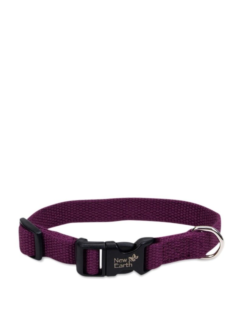 NEW EARTH Soy Collar Eggplant Dog