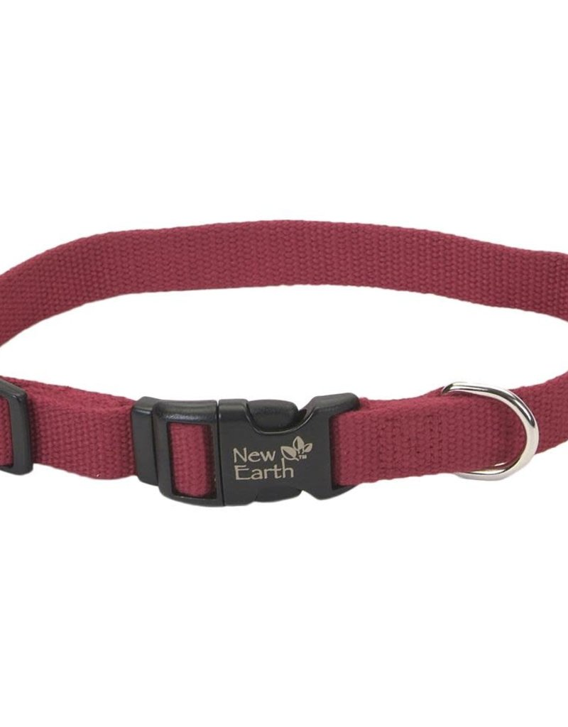 Coastal Pet Products NEW EARTH Soy Collar Cranberry Dog