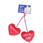 Lulubelles Kittybelles Heart Strings Catnip Cat Toy
