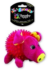 Spunky Pup Spunkypup Lil Bitty Squeakers Pig Dog Toy