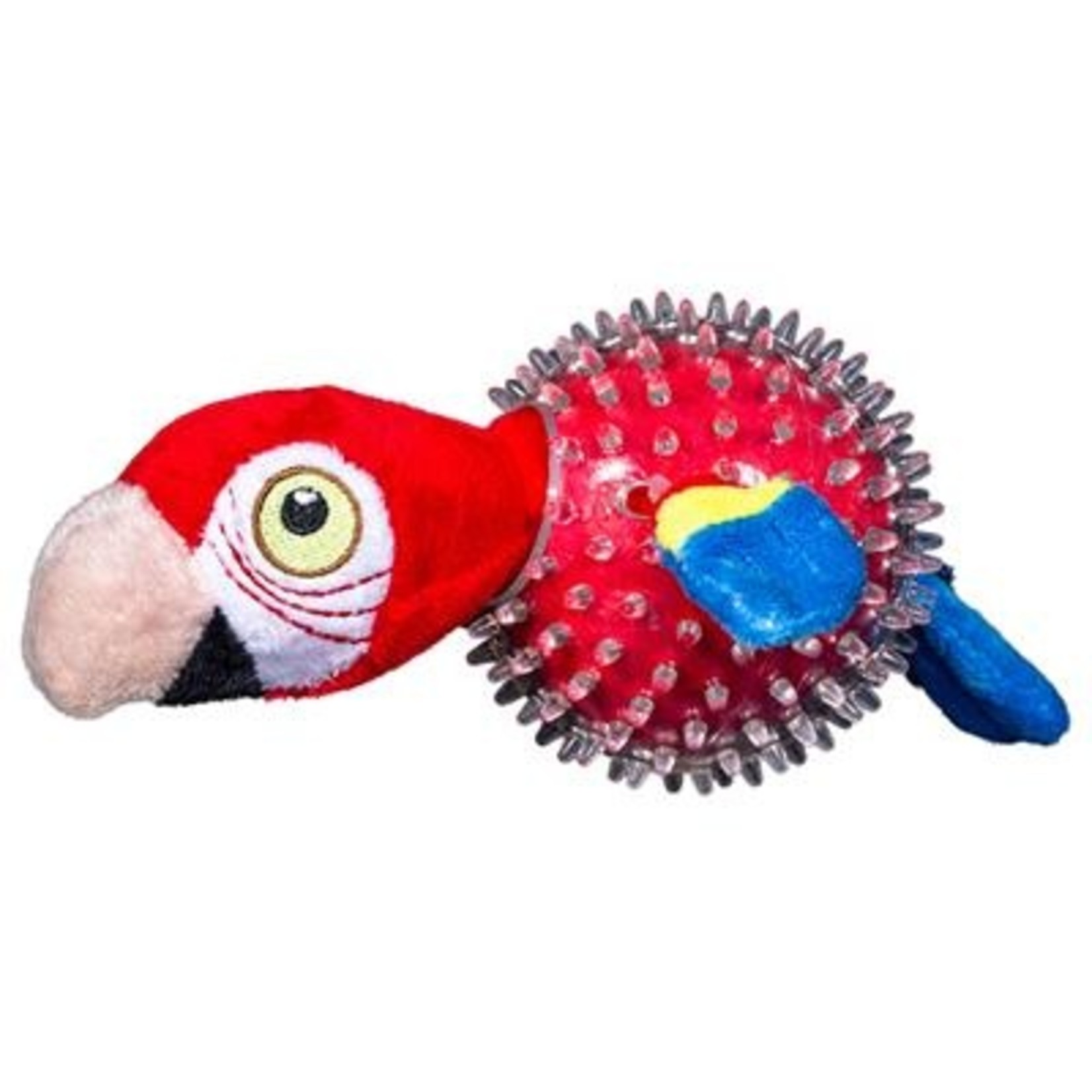Spunky Pup Spunkypup Lil Bitty Squeakers Parrot Dog Toy