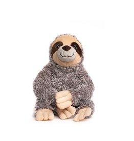 Fabdog Fabdog Fluffie Sloth Dog Toy Sm