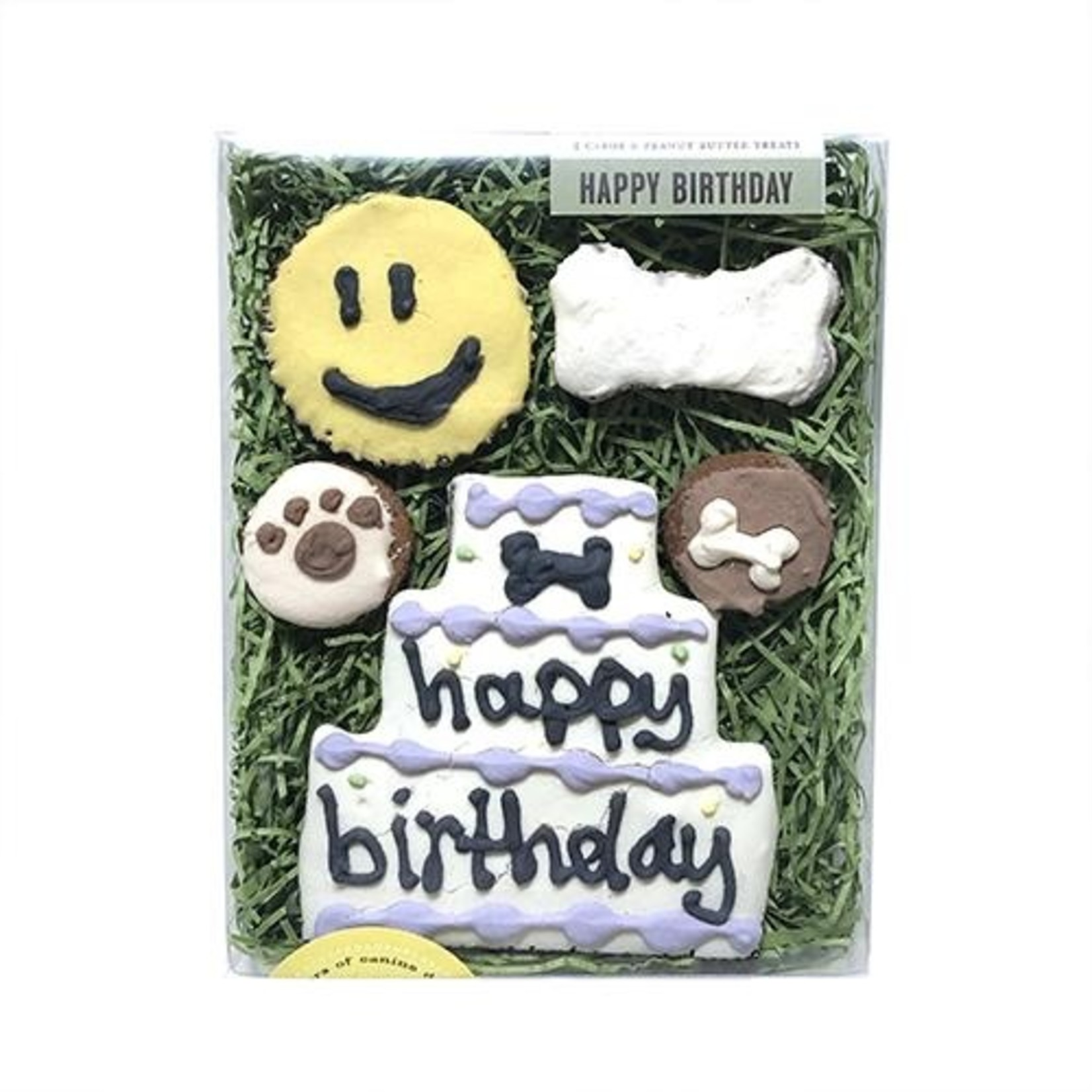 Bubba Rose Biscuit Co Bubba Rose Happy Birthday Dog Treat Combo Box