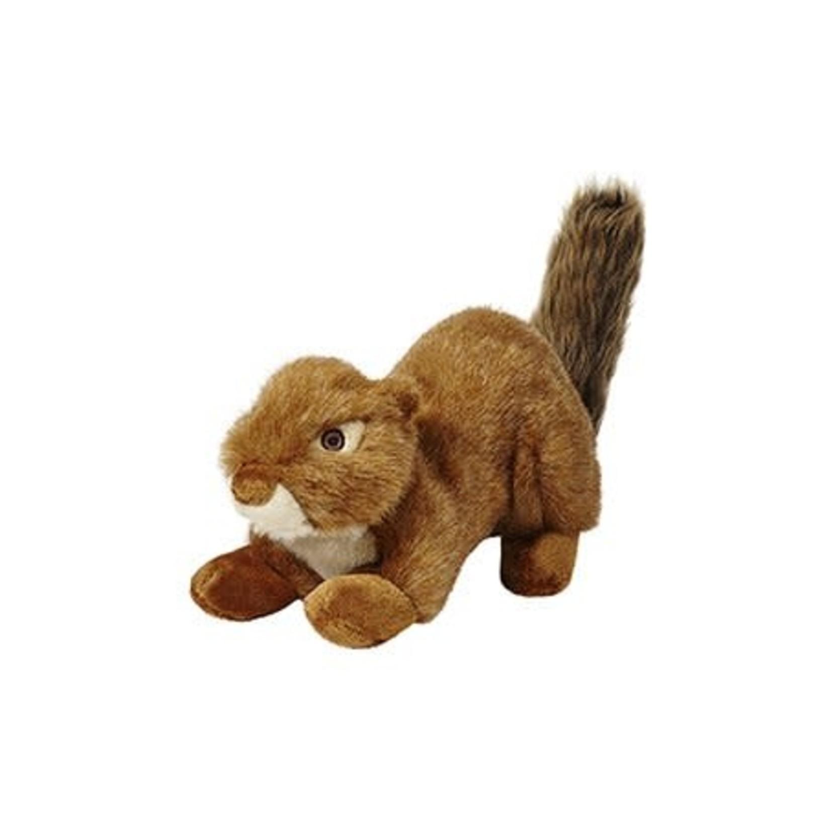 Fluff & Tuff Fluff & Tuff Red Squirrel Squeakerless Dog Toy Lrg